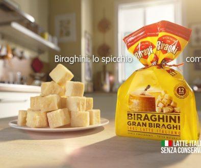 Spot Biraghi - Biraghini, lo spicchio comodo