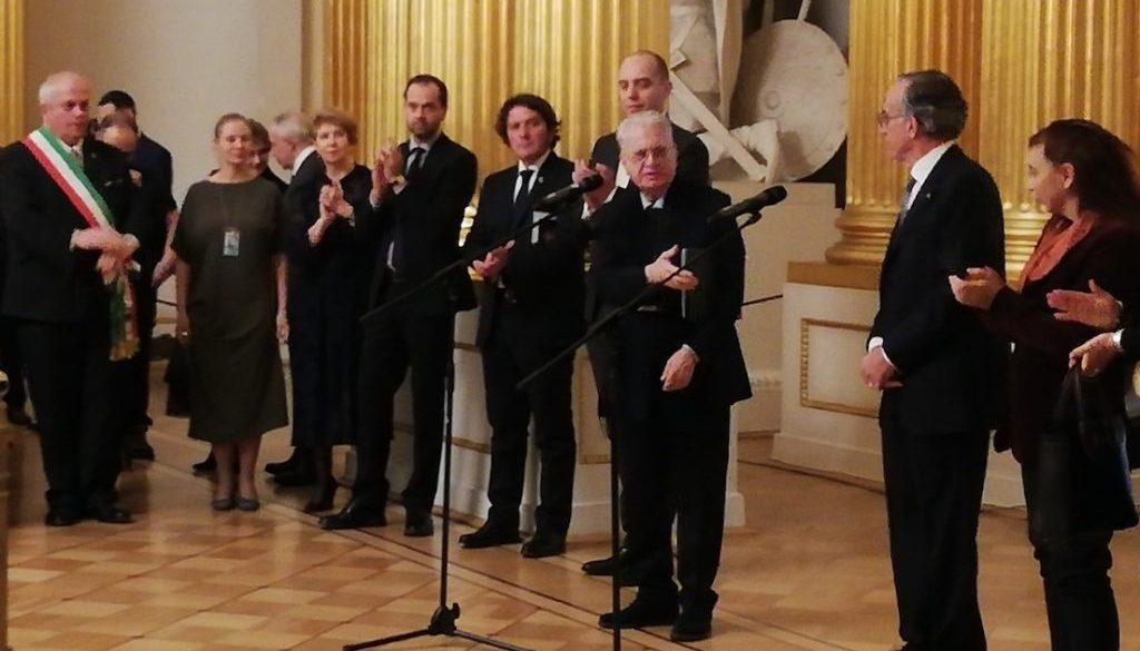 Direttore Piotrovskij Ambasciatore Pasquale Terracciano e Presidente Zanette