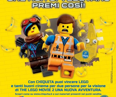 Chiquita THE LEGO MOVIE 2: UNA NUOVA AVVENTURA