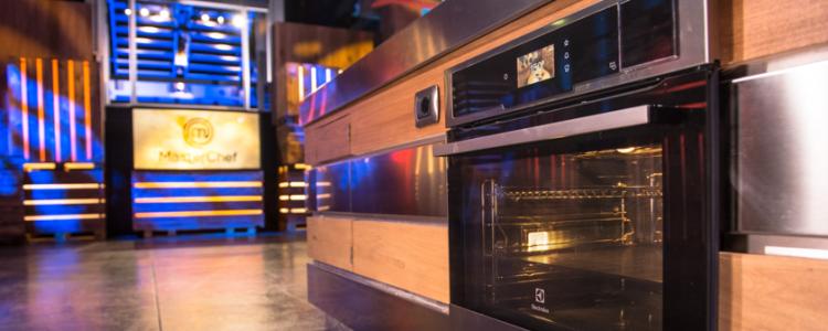 MasterChef Italia con forni, piani cottura e frigoriferi Electrolux