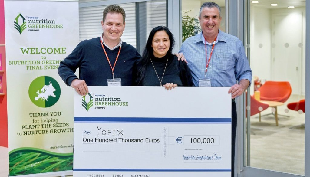 Yofix Nutrition Greenhouse Cheque