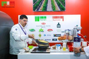 chef Massimo e Barilla masters of pasta