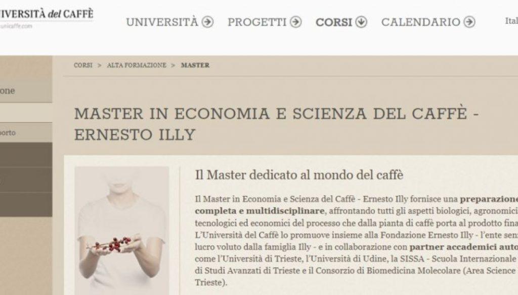 illy universita del caffe