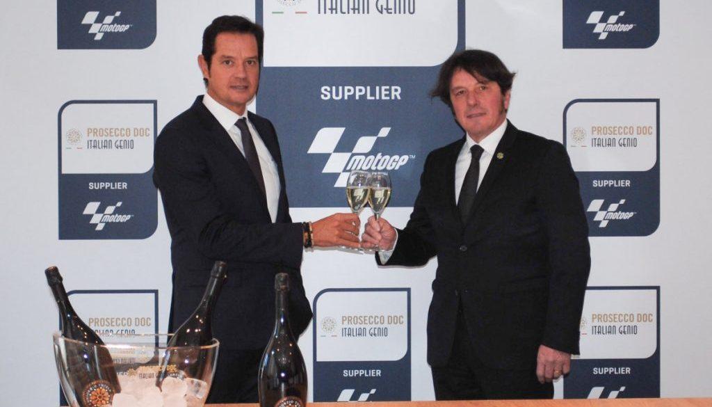 Serracanta Dg Dorna e Presidente Consorzio Prosecco DOC Stefano Zanette