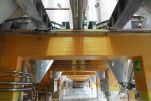 nuovi impianti di fermentazione, birra Peroni, Padova