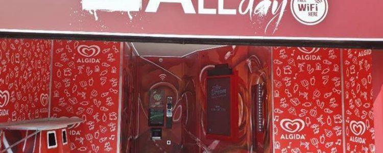 Ice Dream Algida: nuova vending machine