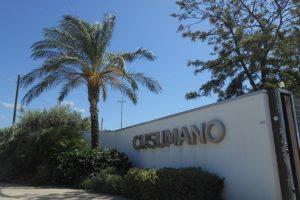 ingresso, cantina Cusumano, Partinico