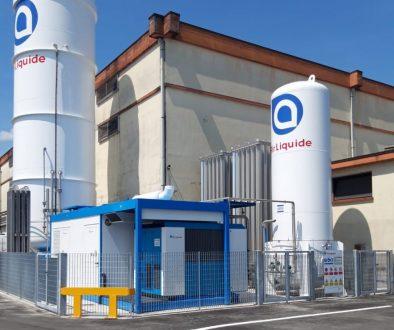 impianto Air Liquide installato presso La Marca