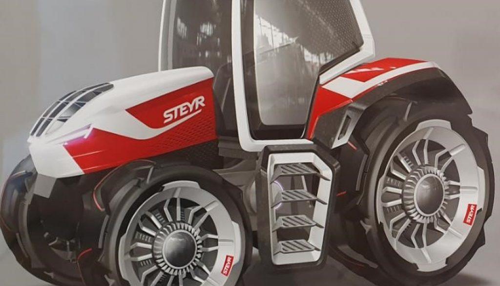 Steyr concept trattore ibrido