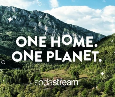 one home, one planet SodaStream