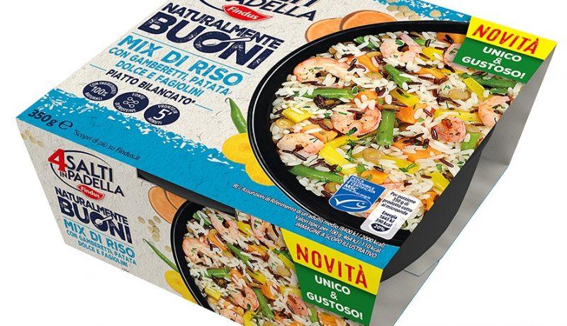 Findus Mix di riso con gamberetti, patata dolce e fagiolini