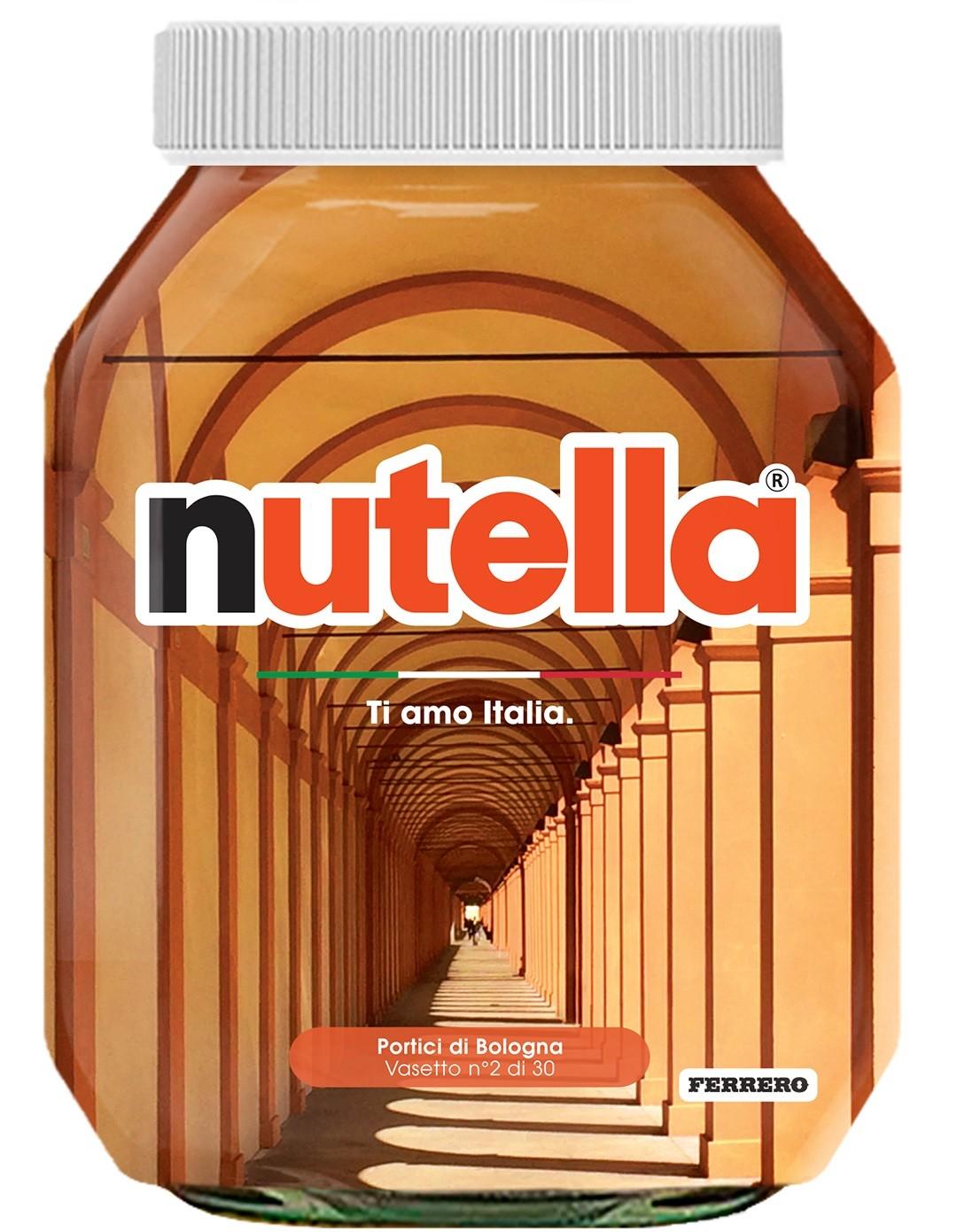 Nutella 02 Emilia Romagna Portici di Bologna