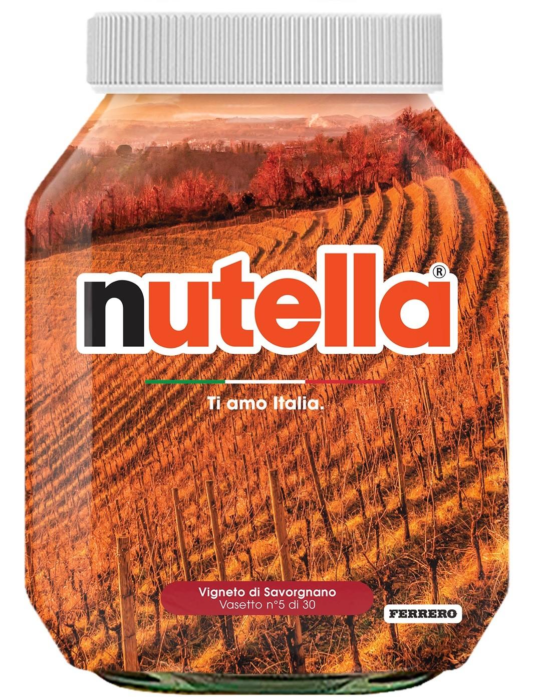 Nutella 05 Friuli Venezia Giulia Vigneto di Savorgnano