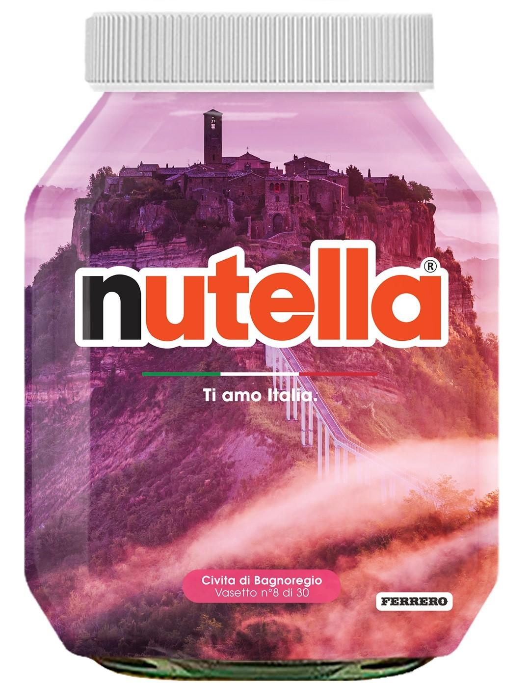 Nutella 08 Lazio Civita di Bagnoregio