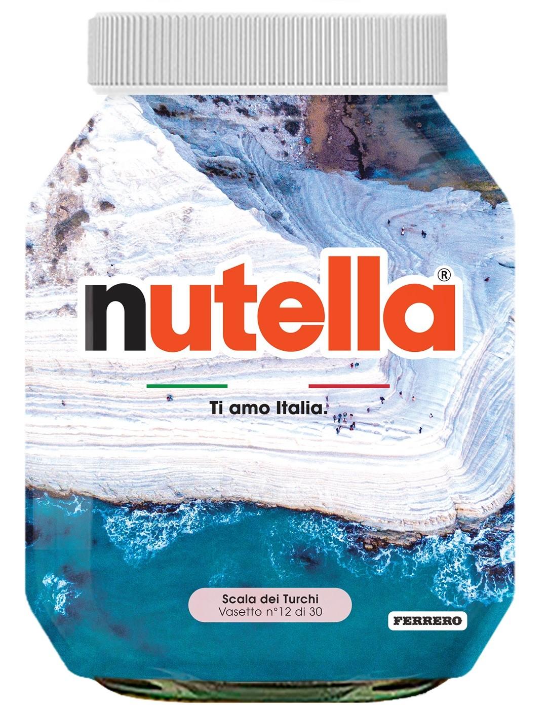 Nutella 12 Sicilia Scala dei Turchi
