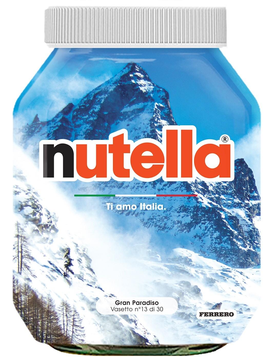 Nutella 13 Valle d'Aosta Gran Paradiso