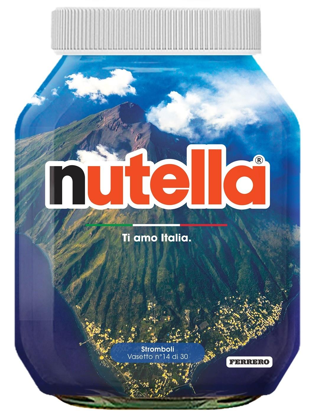 Nutella 14 Sicilia Stromboli