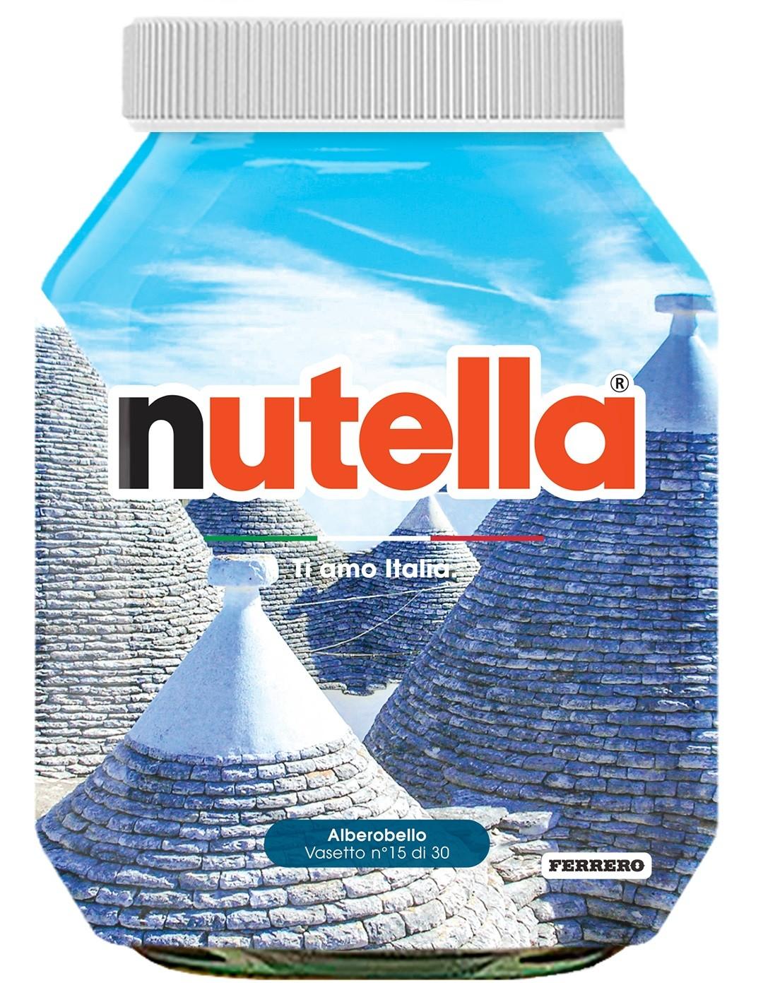 Nutella 15 Puglia Alberobello
