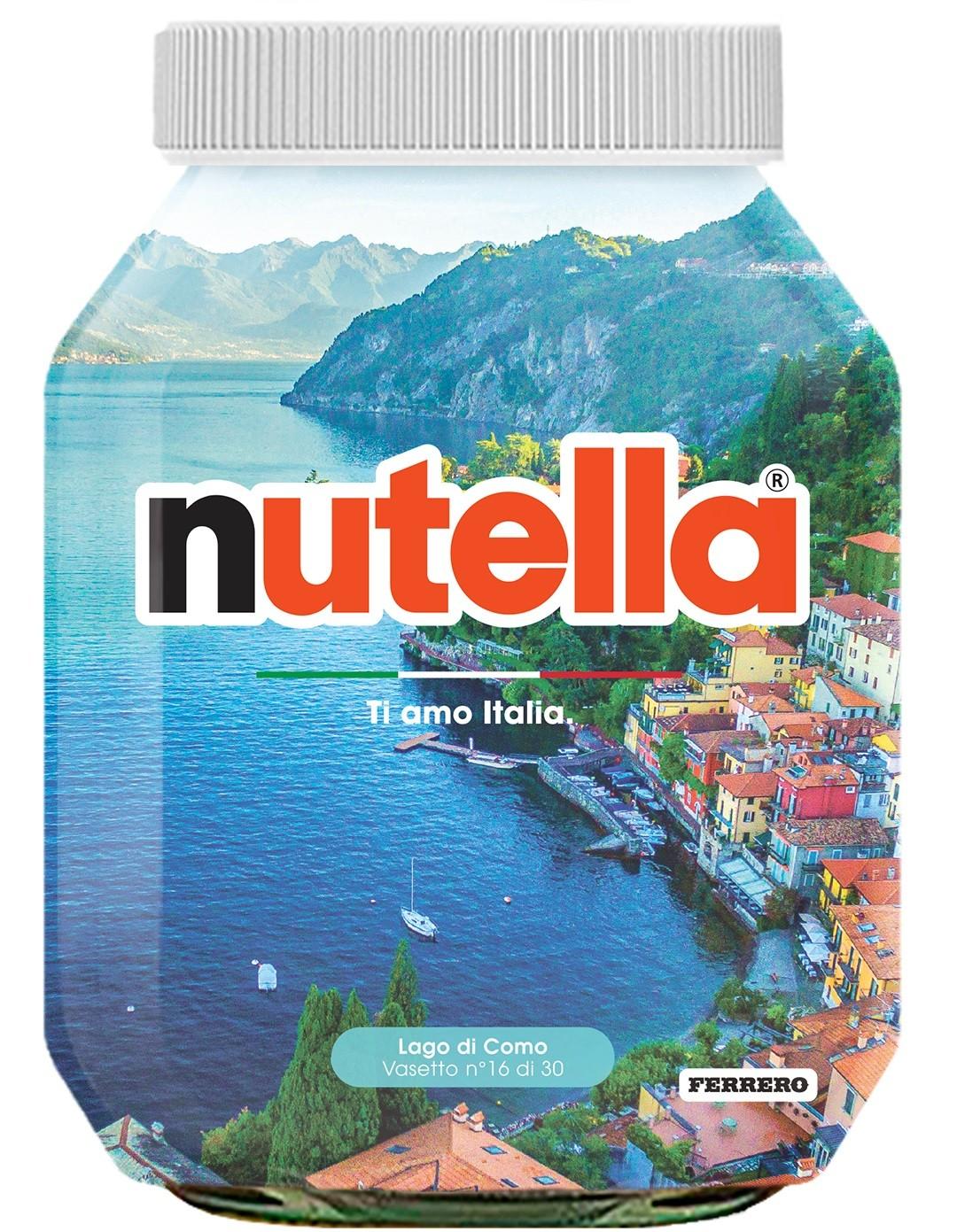 Nutella 16 Lombardia Lago di Como