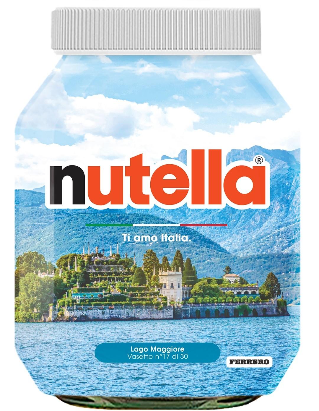 Nutella 17 Piemonte Lago Maggiore