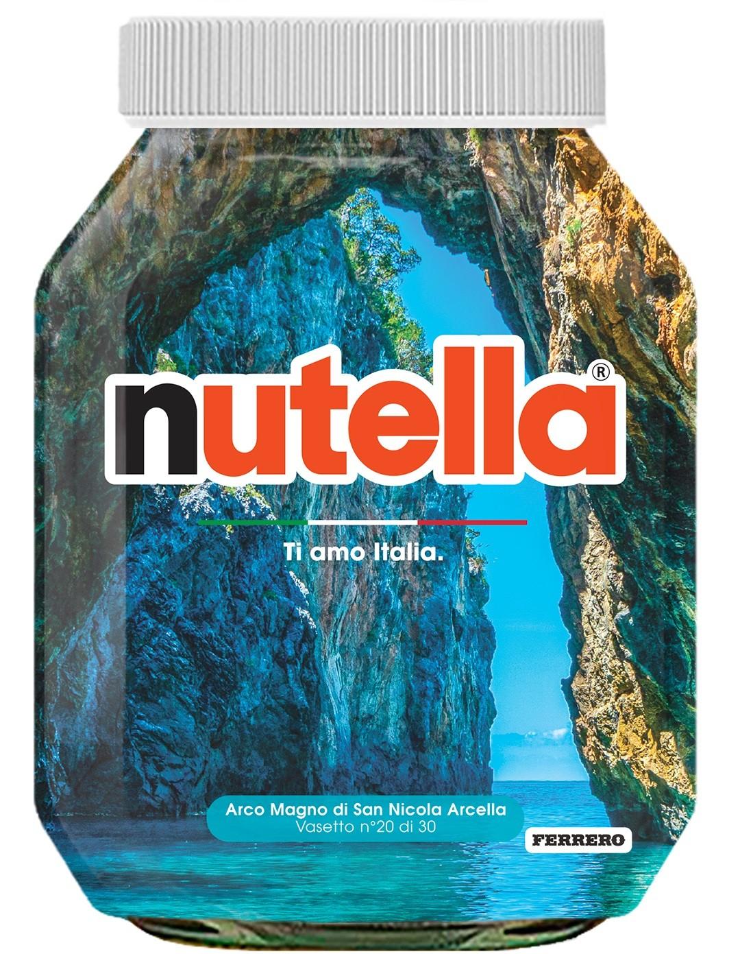Nutella 20 Calabria Arco Magno di San Nicola Arcella