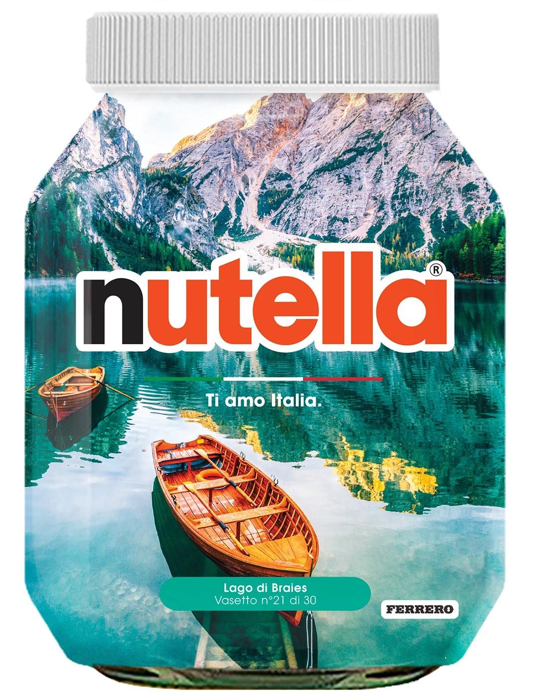 Nutella 21 Trentino Alto Adige Lago di Braies