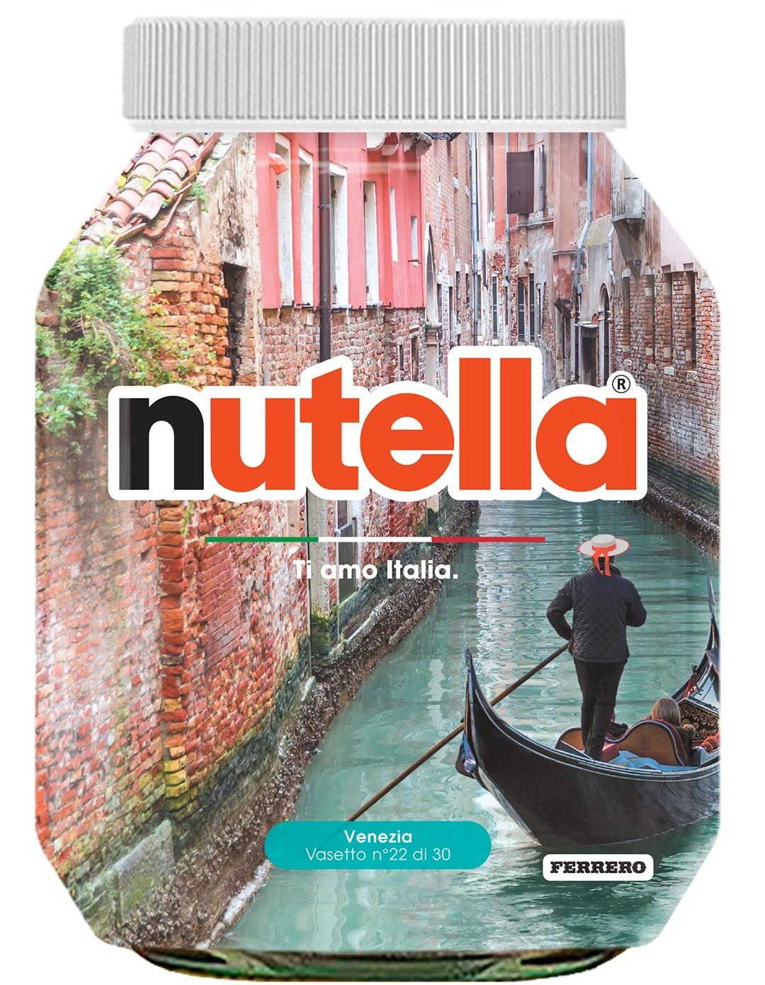 Nutella 22 Veneto Venezia
