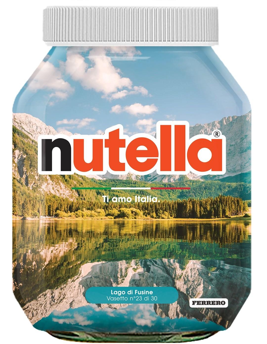 Nutella 23 Friuli Venezia Giulia Lago di Fusine