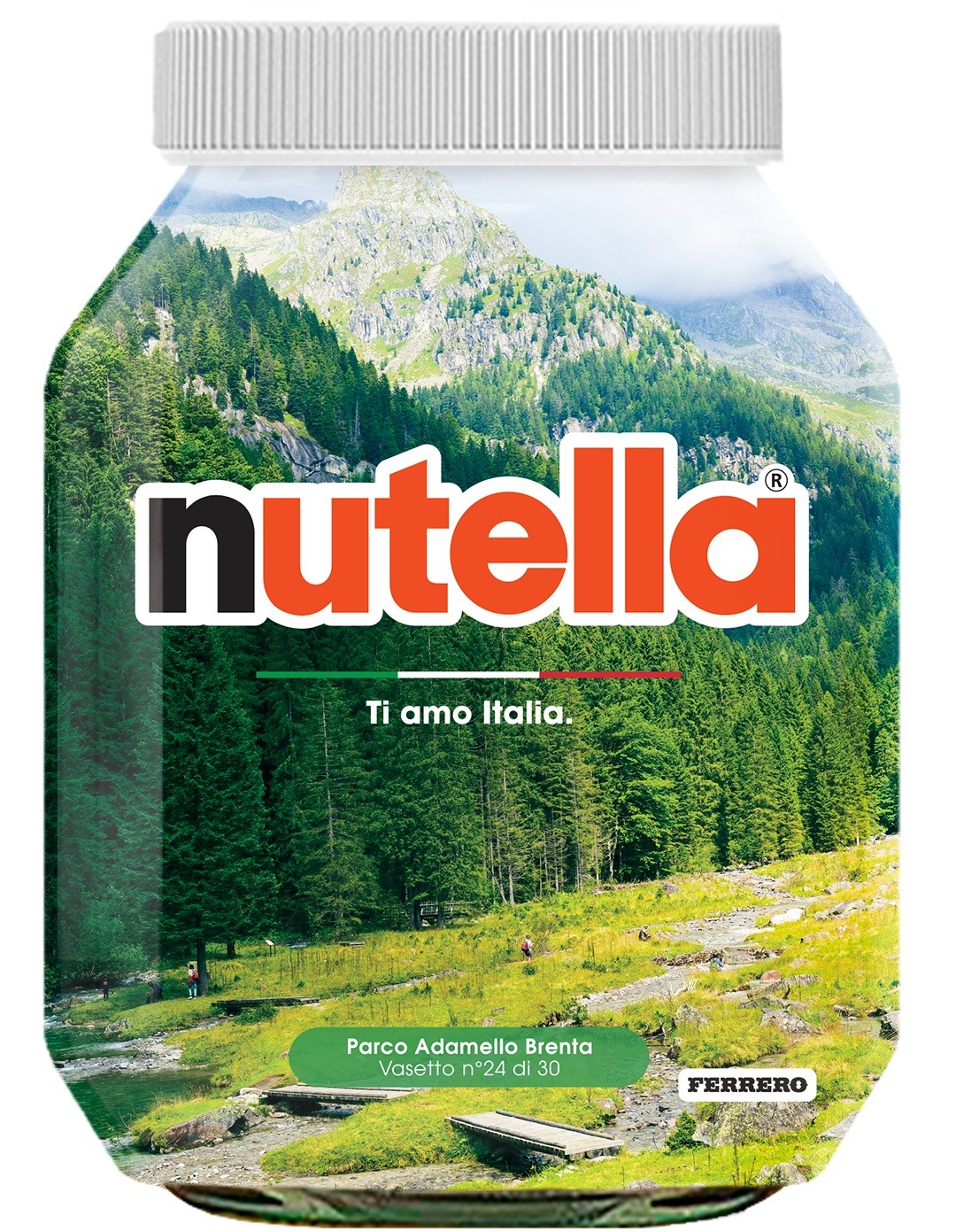 Nutella 24 Trentino Alto Adige Parco Adamello Brenta