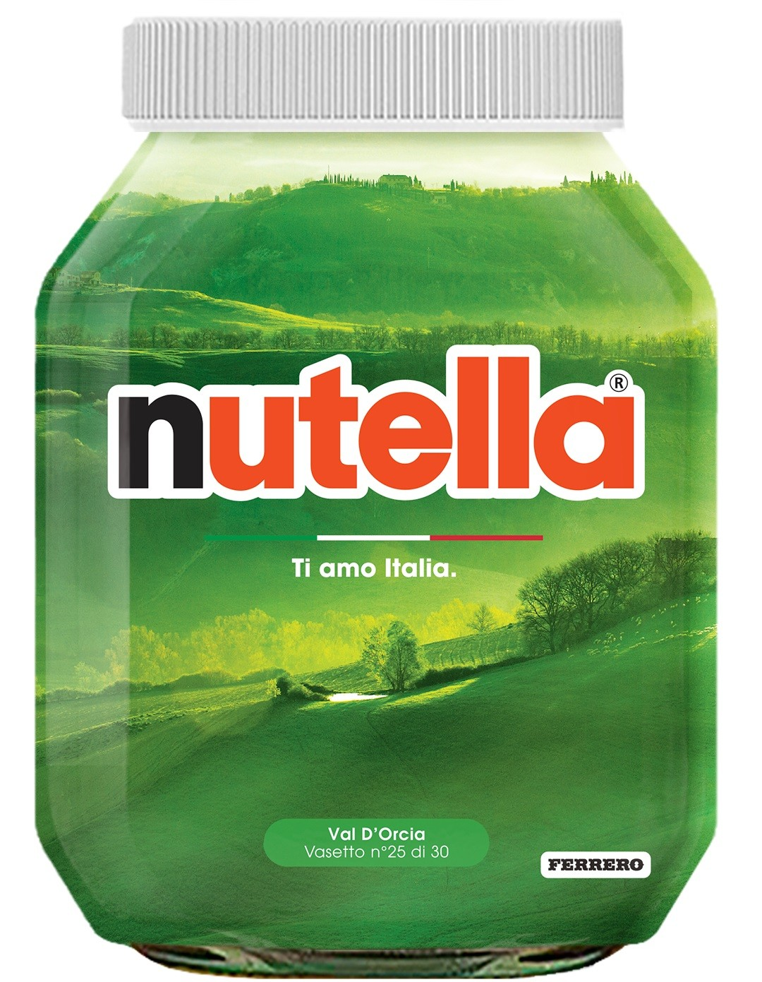Nutella 25 Toscana Val D'Orcia