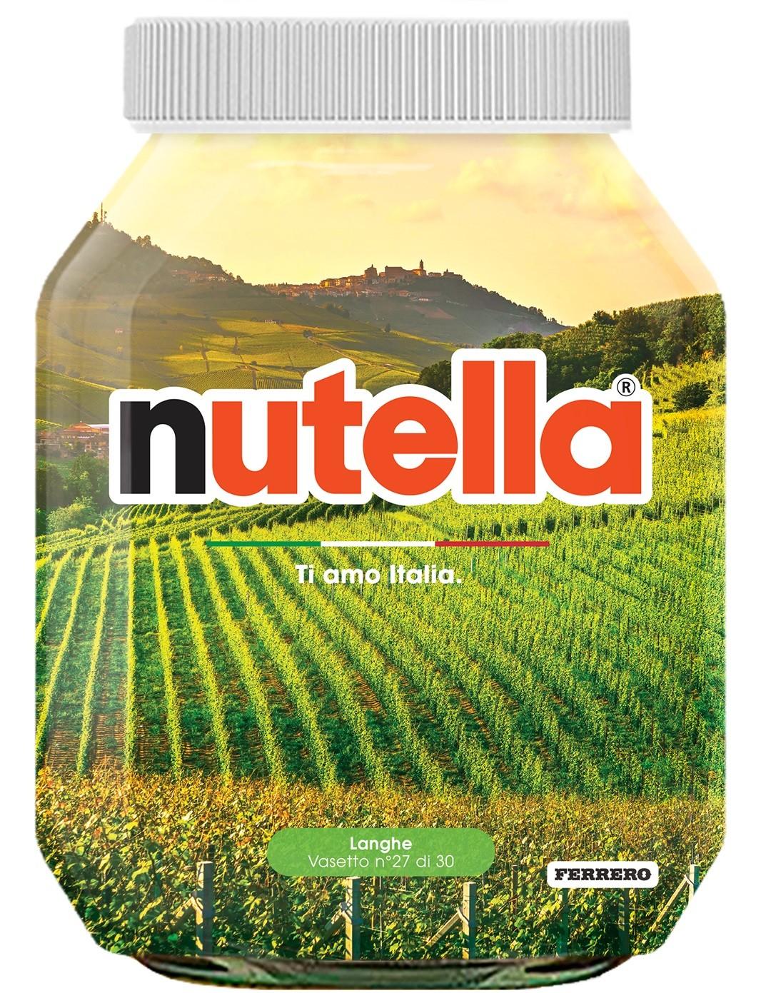 Nutella 27 Piemonte Langhe