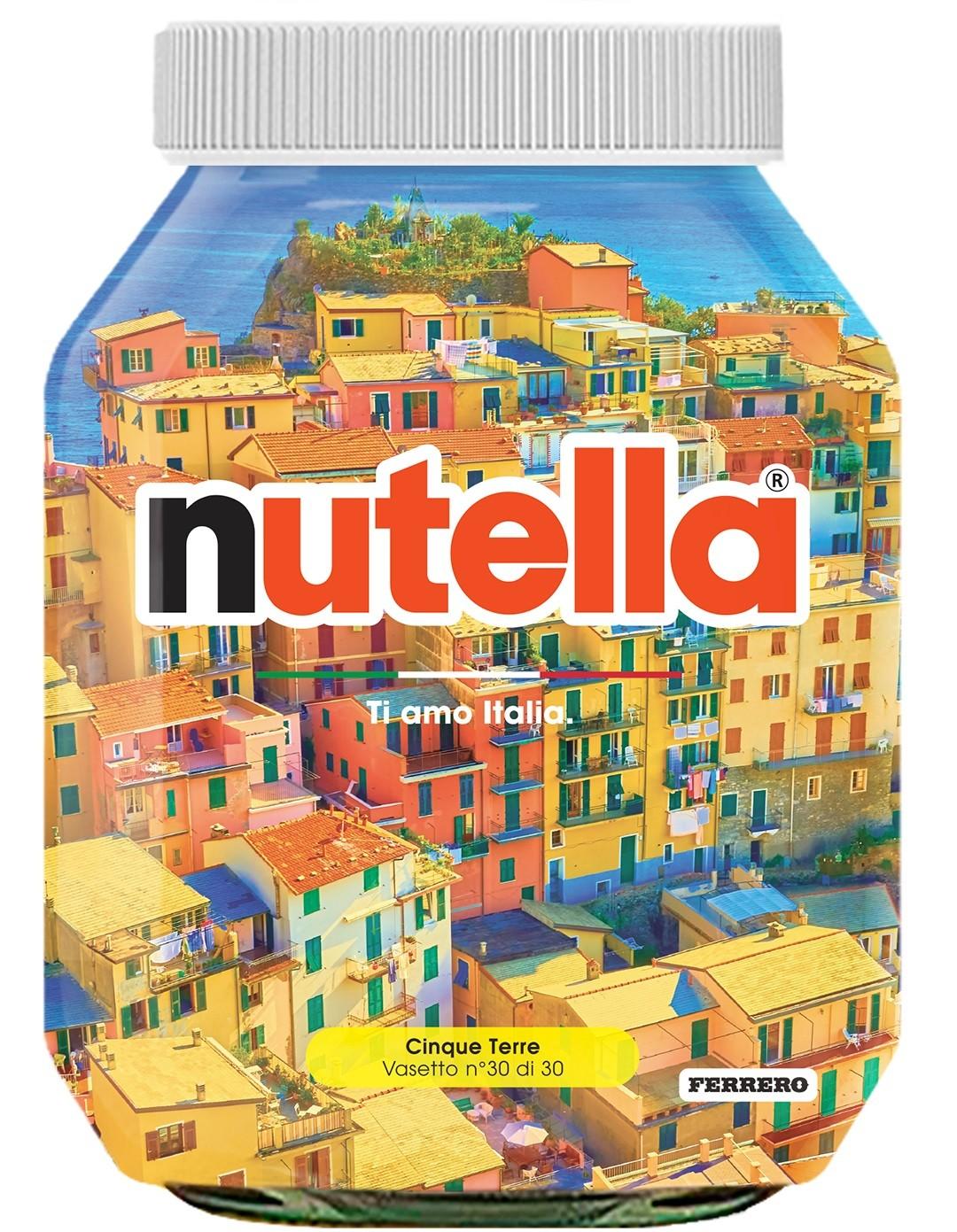 Nutella 30 Liguria Cinque Terre