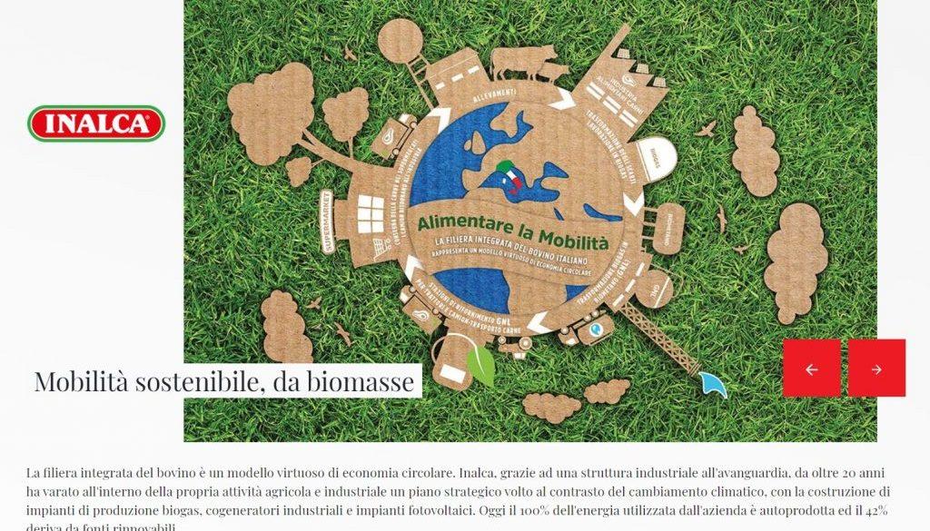 Inalca mobilità sostenibile da biomasse