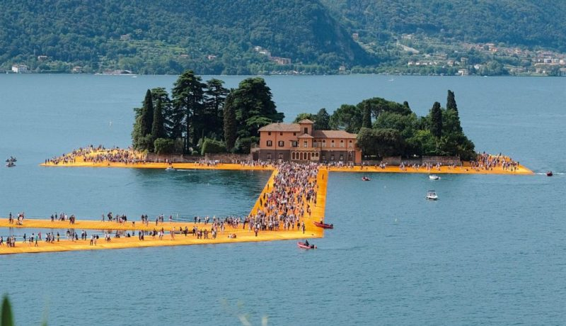 The Floating Piers, Christo, Lago Iseo