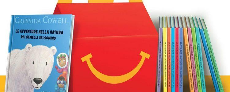 I libri dei gemelli Gelsomino con gli Happy Meal