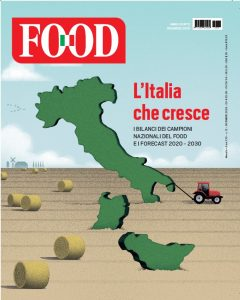copertina D'Urbo FOOD dicembre 2020