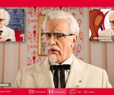 KFC Campagna Double Down 2021
