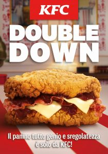 KFC Campagna Double Down 2021_Key Visual