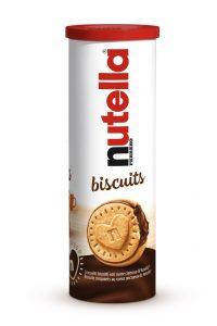 Ferrero Nutella Biscuits Tubo