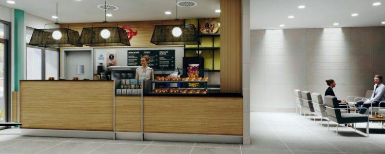 Nuova caffetteria Panella nell'Ospedale Gemelli (Roma)