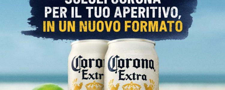 Corona in lattina