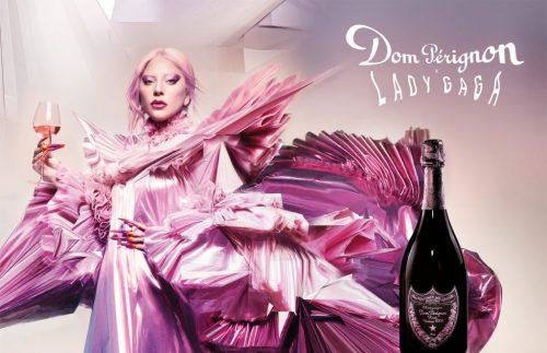 Lady Gaga e Dom Pérignon