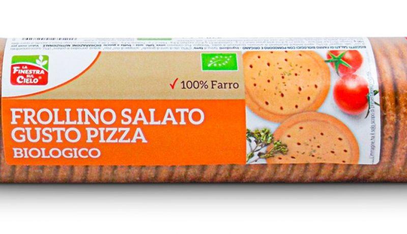 La Finestra sul Cielo_Frollino salato gusto pizza