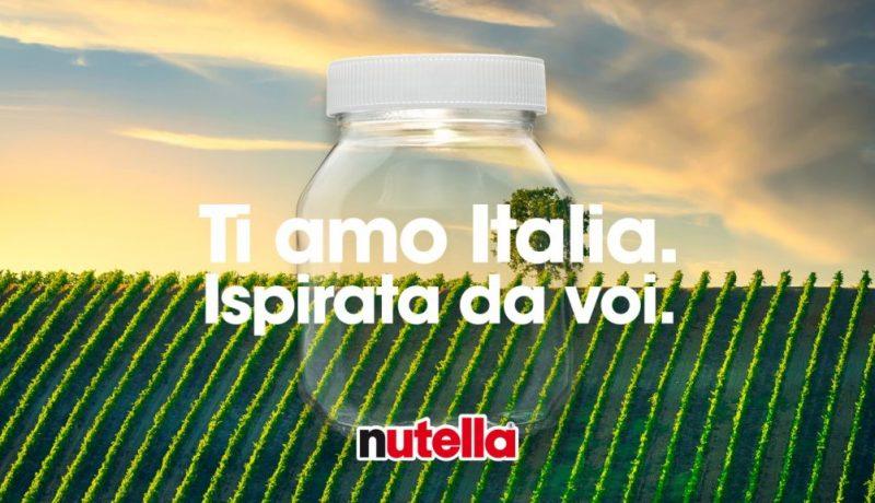 Nutella Ti amo Italia 2021