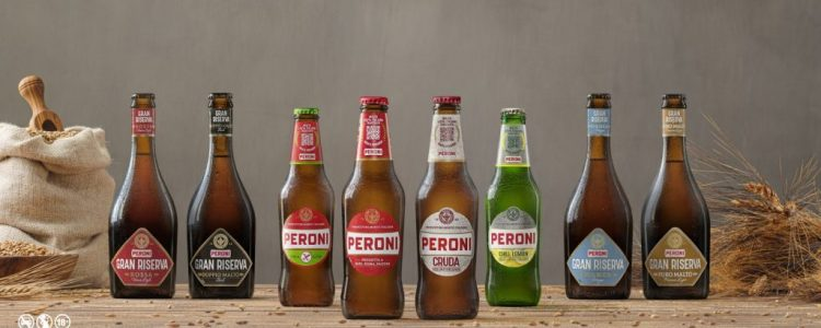 Una nuova veste grafica per i 175 anni di Peroni