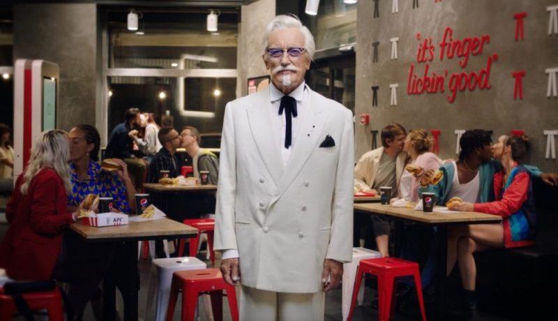 KFC Kiss Burger Colonnello Sanders Ristorante baci variegati