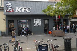 KFC Padova, fuori