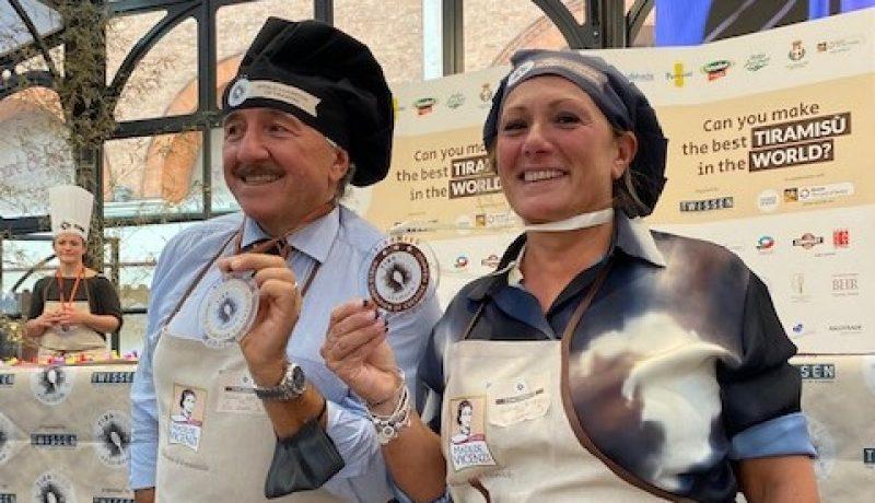 Tiramisù World Cup Treviso 2021 vincitori Stefano Serafini e Elena Bonali